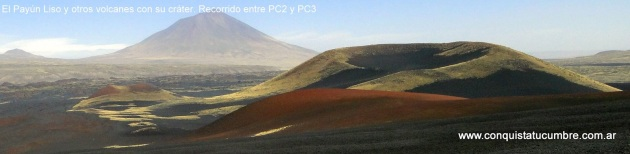 Volcán Payún Liso, 3850smnm